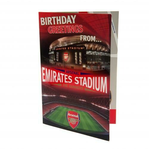 Arsenal FC Pop-Up Birthday Card