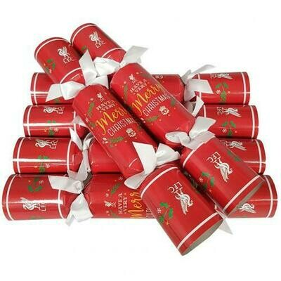Liverpool FC Christmas Crackers