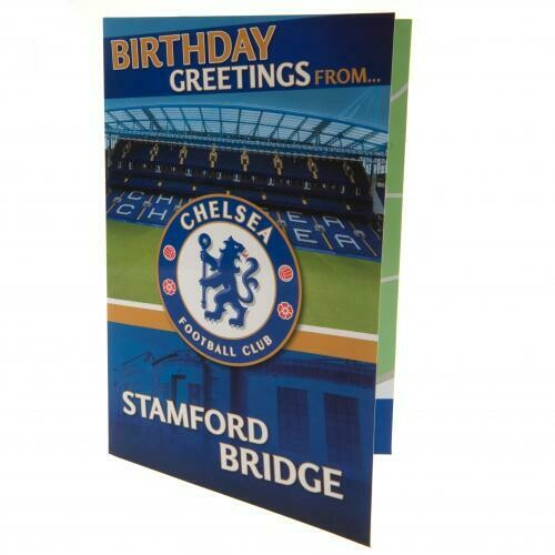Chelsea FC Pop-Up Birthday Card