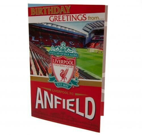Liverpool FC Pop-Up Birthday Card
