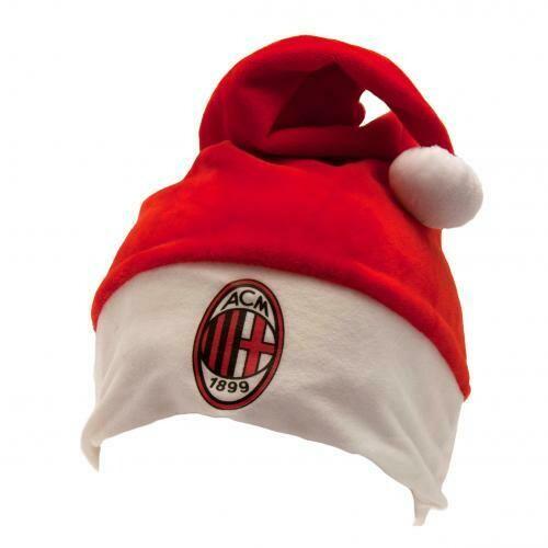 AC Milan Santa Hat