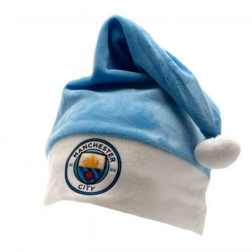 Manchester City FC Santa Hat