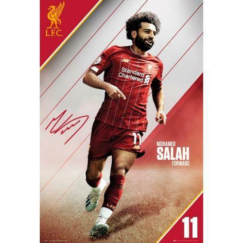 Liverpool FC Poster Salah 16