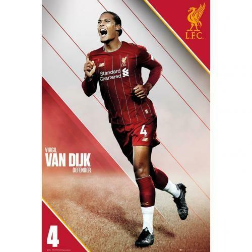 Liverpool FC Poster Van Dijk 10