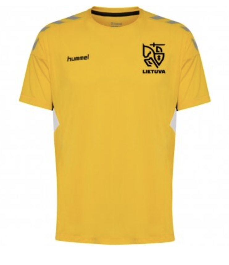 Hummel Official Lithuania Home Jersey 2020
