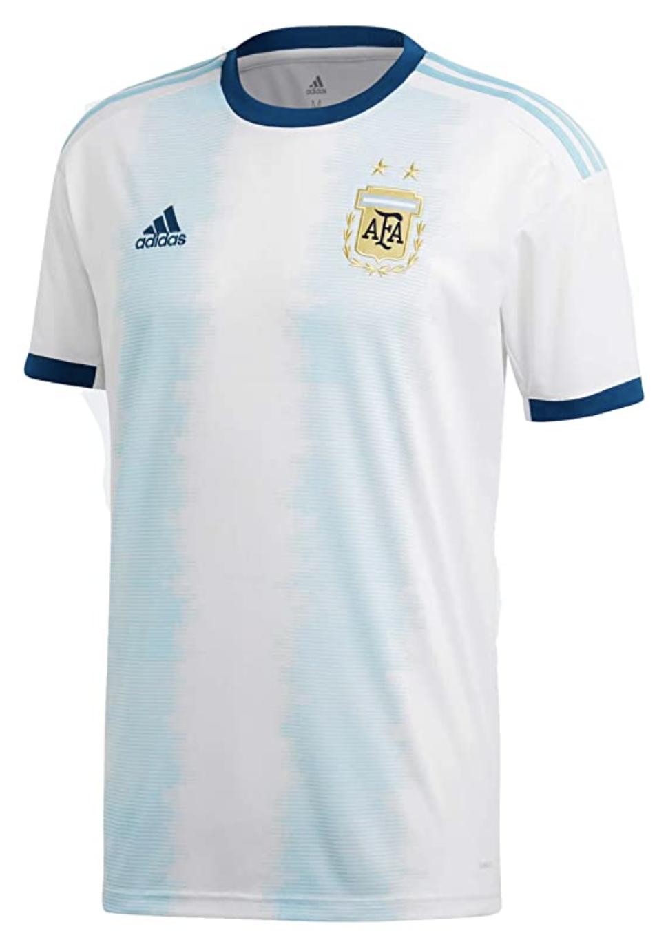 Adidas Argentina Official Home Jersey Shirt 2018