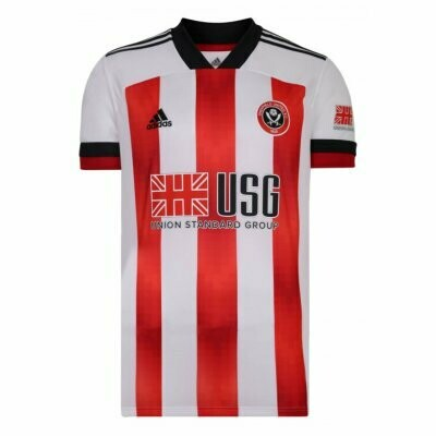 Sheffield United Home Soccer Jersey Shirt 20/21