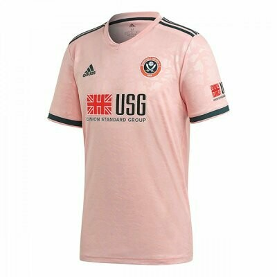 Sheffield United Away Soccer Jersey Shirt 20/21
