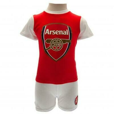 Arsenal FC T Shirt & Short Set 6/9 mths