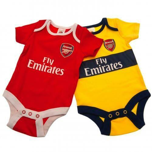 Arsenal FC 2 Pack Bodysuit 12/18 mths YL