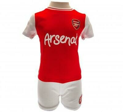 Arsenal FC Shirt & Short Set 9/12 mths RT