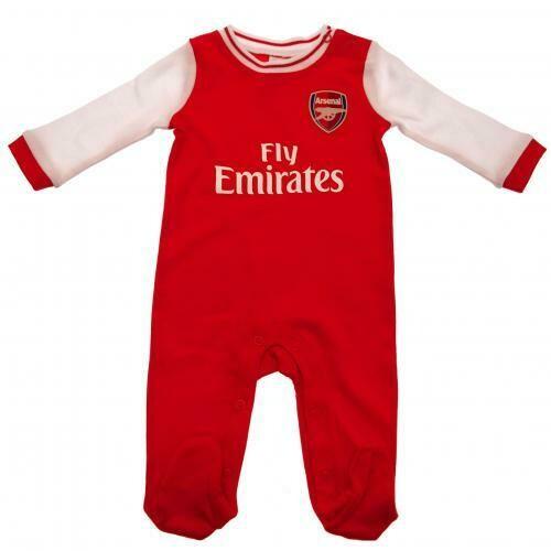 Arsenal FC Sleepsuit 0/3 mths RT