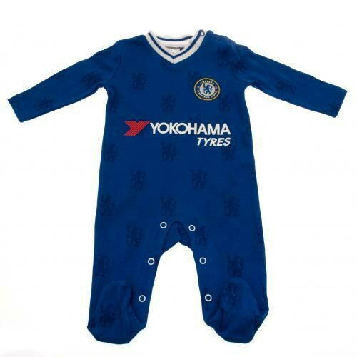 Chelsea FC Sleepsuit 9/12 mths LN
