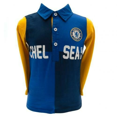 Chelsea FC Rugby Jersey 12/18 mths