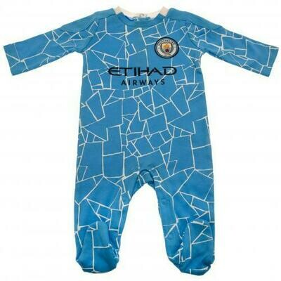 Manchester City FC Sleepsuit 0/3 mths