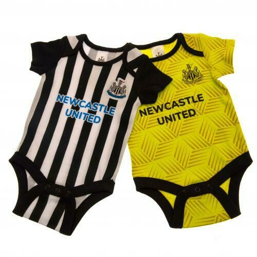 Newcastle United FC 2 Pack Bodysuit 9/12 mths