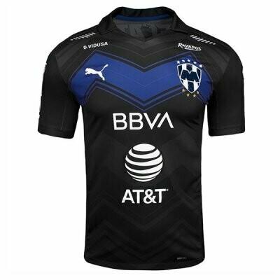 Monterrey Third Black Soccer Jersey Shirt 20-21