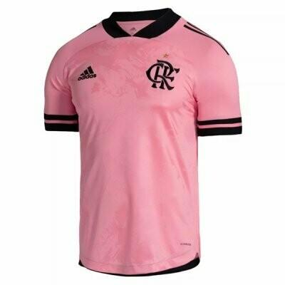 Flamengo Outubro Rosa Pink Soccer Jersey 20-21