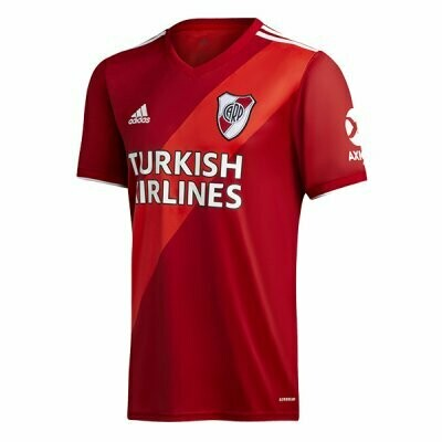 River Plate Away Red Soccer Jersey Shirt 20-21