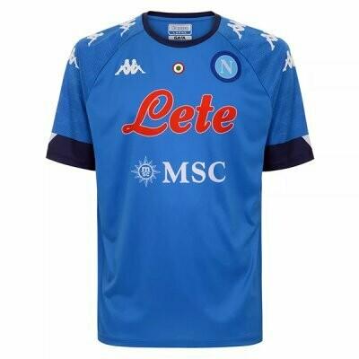 20-21 Napoli Home Soccer Jersey Shirt