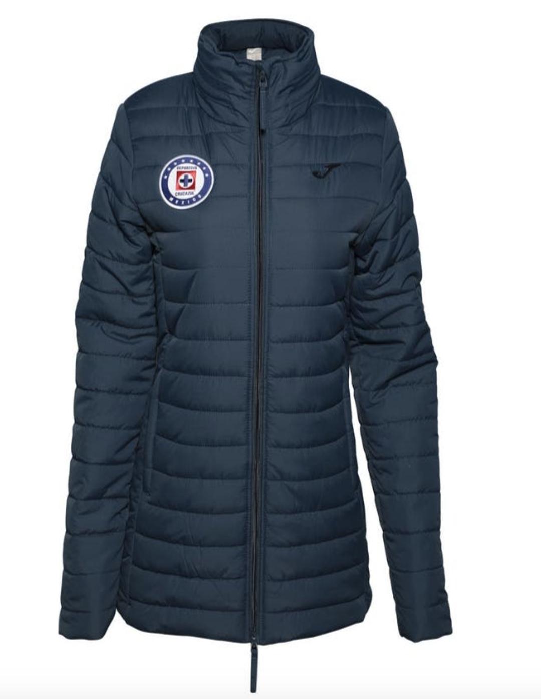 Official Cruz Azul Women's Winter Jacket (Authentic)