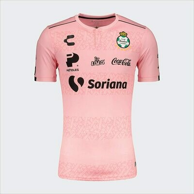Santos Laguna Official Pink Jersey  19/20 (Authentic)