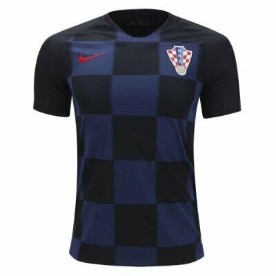 2018 Croatia Away World Cup Jersey Shirt