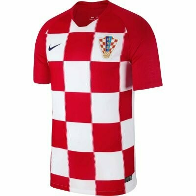 2018 Croatia Home World Cup Jersey Shirt