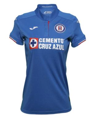 Joma Cruz Azul Official Home Women's Jersey 19/20 (Authentic)