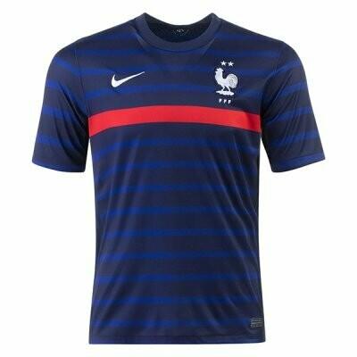 2020 France Home Navy Soccer Jersey Shirt