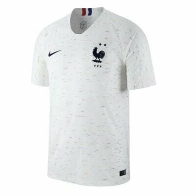 2018 France Away Soccer Jersey( 2 Star )