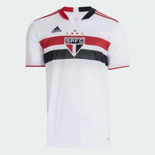 Adidas Sao Paulo FC Official Home Soccer Jersey 21/22 (Authentic)