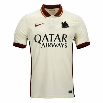 20-21 AS Roma Away Soccer Jersey Shirt