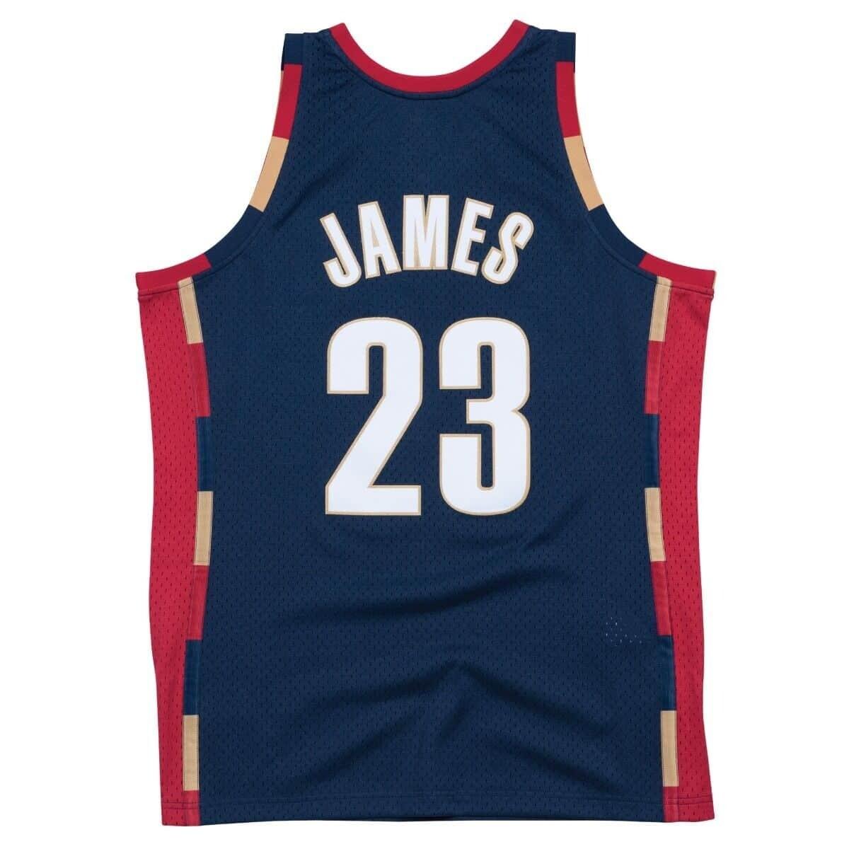 Mitchell & Ness Cleveland Cavaliers Lebron James 2008 Alternate Swingman Jersey Edition
