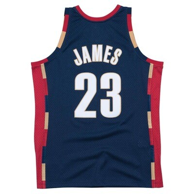 Mitchell & Ness Cleveland Cavaliers Lebron James 2008 Alternate Swingman Jersey Edition