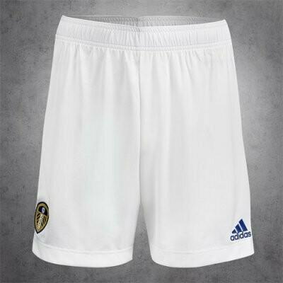 20-21 Leeds United Home White Short