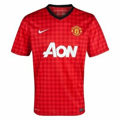 Manchester United Home Soccer Jersey Retro Shirt 2012-2013
