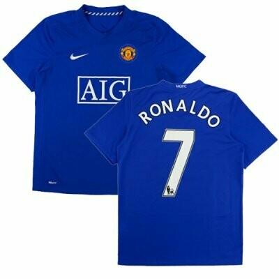 Manchester United Third RONALDO #7 Premier League Shirt 1 2008-2009