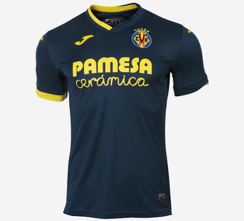 Villarreal CF Authentic Away Jersey 20-21