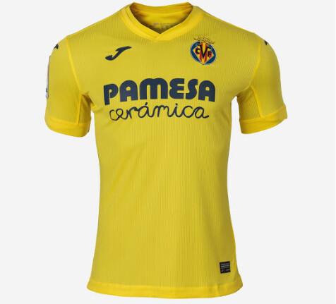 Villarreal CF Authentic Home Jersey 20-21