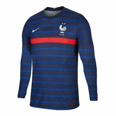 2020 France Home Navy Long Sleeve Jersey