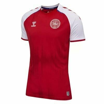 2021 Denmark Home Red Soccer Jersey