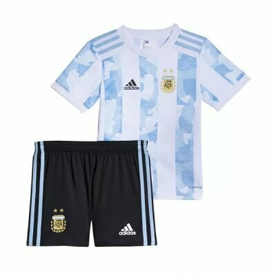 2021 Argentina Home Jersey Kids Kit