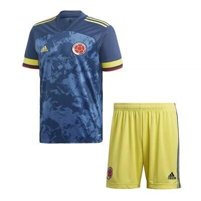 2020 Colombia Away Jersey Kids Kit