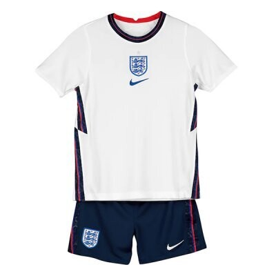 2020 England Home Jersey Kids Kit