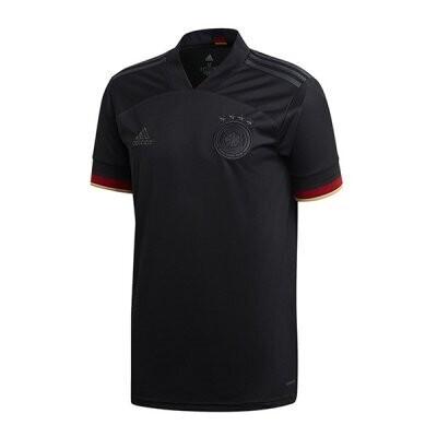 Germany Away Soccer Jersey Black 2020