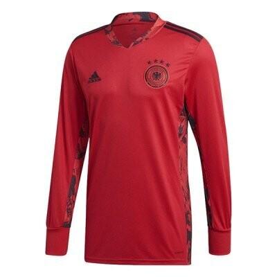 Germany Long Sleeve Red Goalkeeper Soccer Jersey 2020