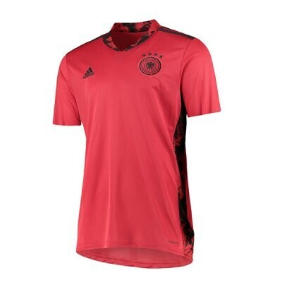 Germany Red Goalkeeper Soccer Jersey 2020