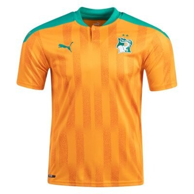 20-21 Ivory Coast Home Soccer Jersey