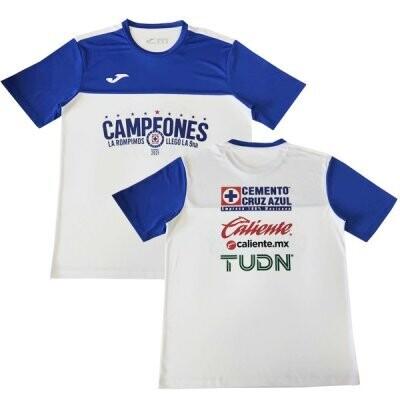 2021 Cruz Azul Campeon Championship Shirt